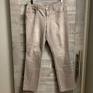 Jennifer Lopez | Gray Wash Skinny Jeans Sz 10